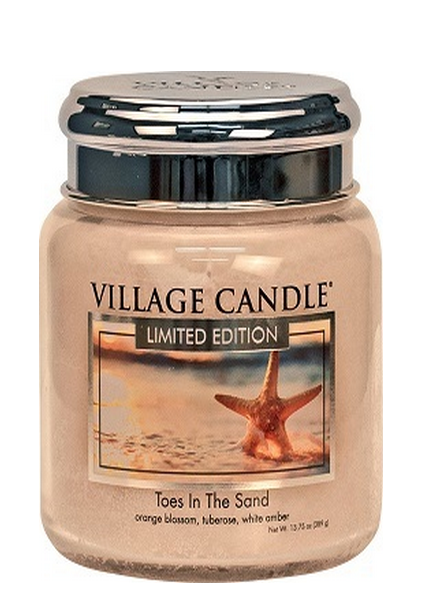Village Candle Toes In The Sand Medium Jar