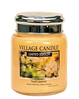 Village Candle Sunlit Jasmine Medium Jar