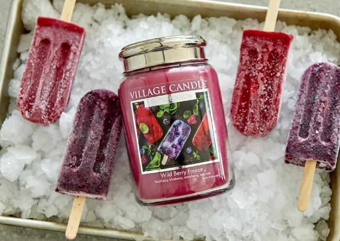 Village Candle Village Candle Wild Berry Freeze Medium Jar