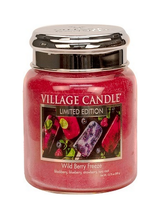 Village Candle Wild Berry Freeze Medium Jar