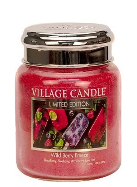 Village Candle Wild Berry Freeze Medium Jar