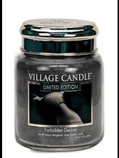 Village Candle Forbidden Desires Medium Jar