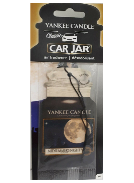 Yankee Candle Yanke Candle Midsummers Night Car Jar