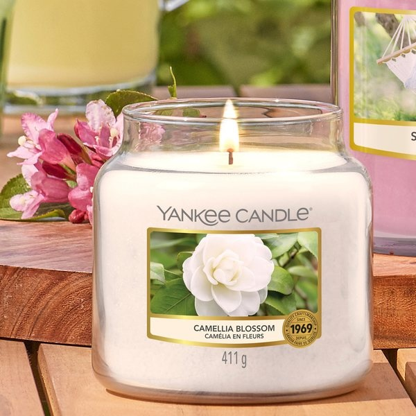 Yankee Candle Yankee Candle Camellia Blossom Theelichten