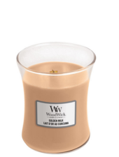 Woodwick Medium Golden Milk