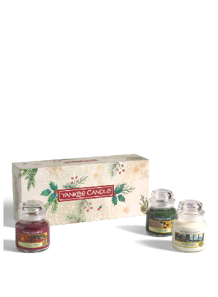 Yankee Candle 3 Small Jars Giftset 2020