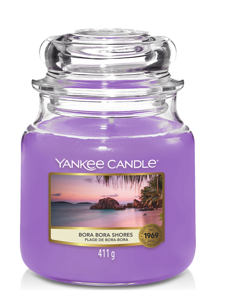 Yankee Candle Bora Bora Shores Medium Jar