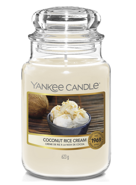 Yankee Candle Coconut Rice Cream Large Jar