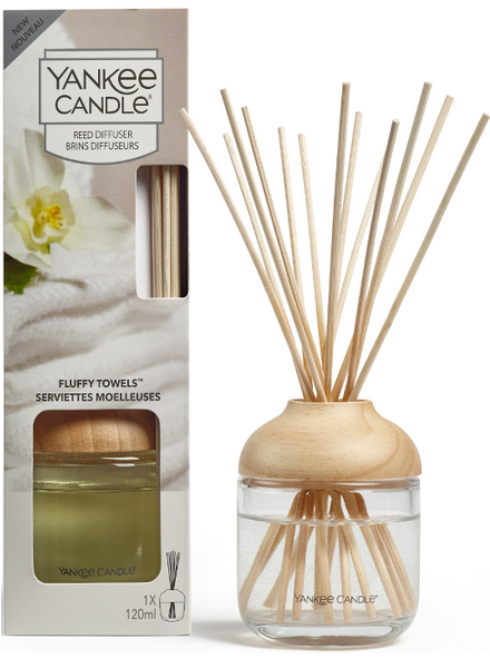 Yankee Candle Fluffy Towels Reed Diffuser Geurstokjes