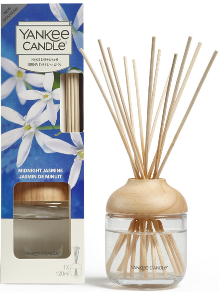 Yankee Candle Midnight Jasmine Reed Diffuser Geurstokjes