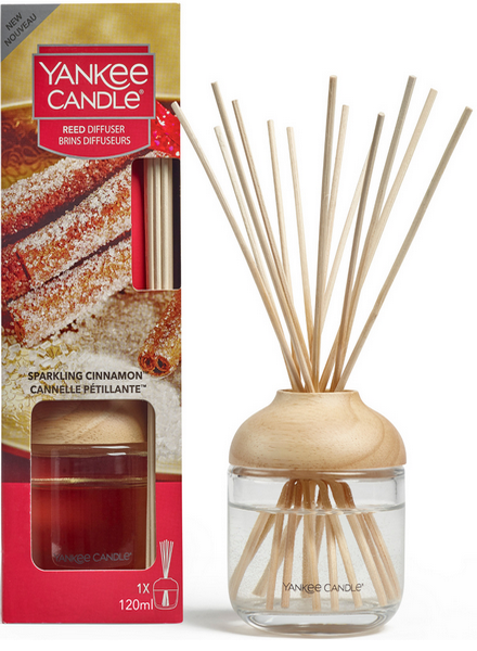 Yankee Candle Sparkling Cinnamon Reed Diffuser Geurstokjes