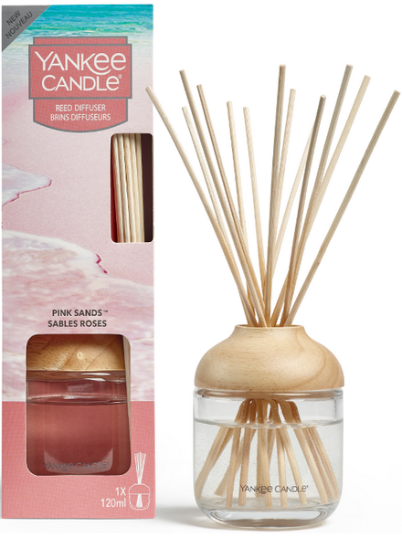 Yankee Candle Pink Sands Reed Diffuser Geurstokjes