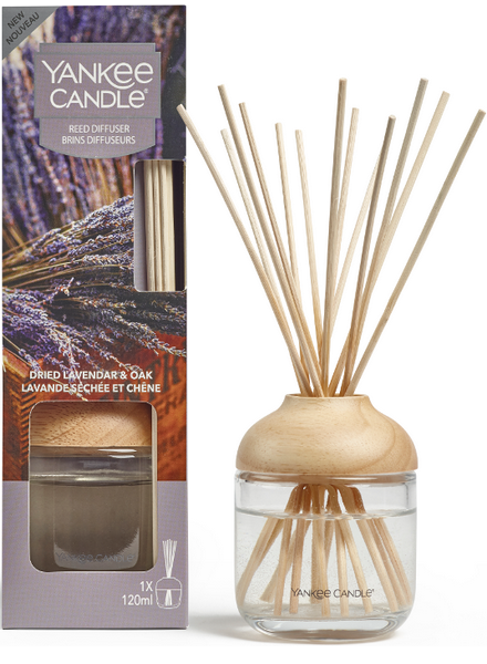 Yankee Candle Yankee Candle Dried Lavender & Oak Reed Diffuser Geurstokjes
