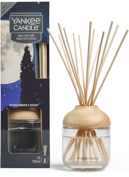 Yankee Candle Midsummers Night Reed Diffuser Geurstokjes