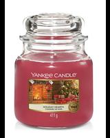 Yankee Candle Holiday Hearth Medium Jar