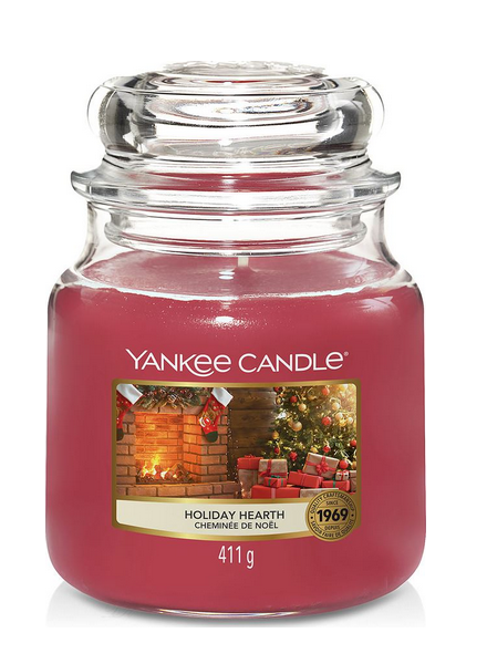 Yankee Candle Holiday Hearth Medium Jar