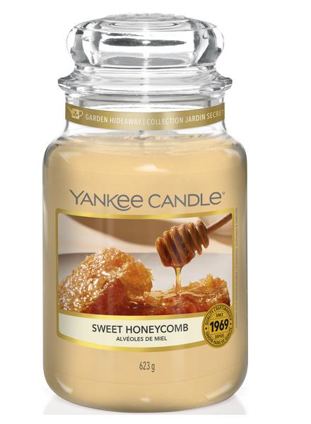 Yankee Candle Sweet Honeycomb Large Jar