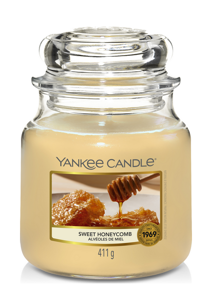 Yankee Candle Sweet Honeycomb Medium Jar