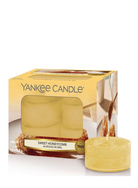 Yankee Candle Sweet Honeycomb Theelichten
