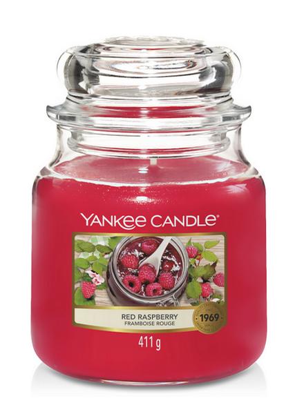 Yankee Candle Yankee Candle Red Raspberry Medium Jar