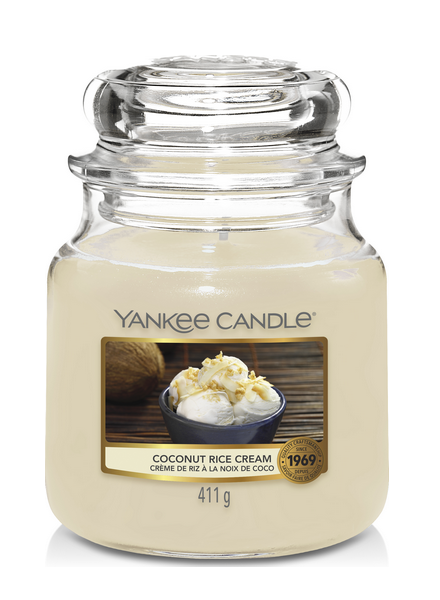 Yankee Candle Coconut Rice Cream Medium Jar