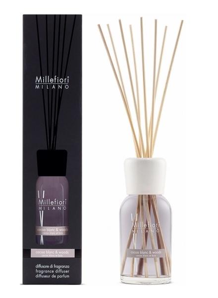 Millefiori Milano  Millefiori Milano Cocoa Blanc & Woods Geurstokjes Natural 250ml