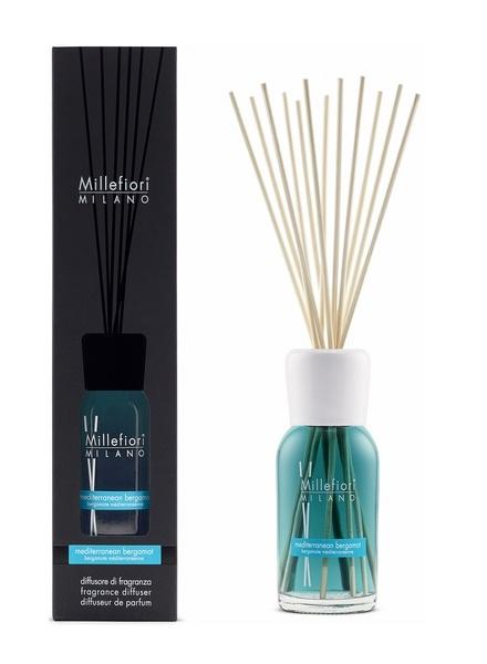 Millefiori Milano  Millefiori Milano Mediterranean Bergamot Geurstokjes Natural 100 ml