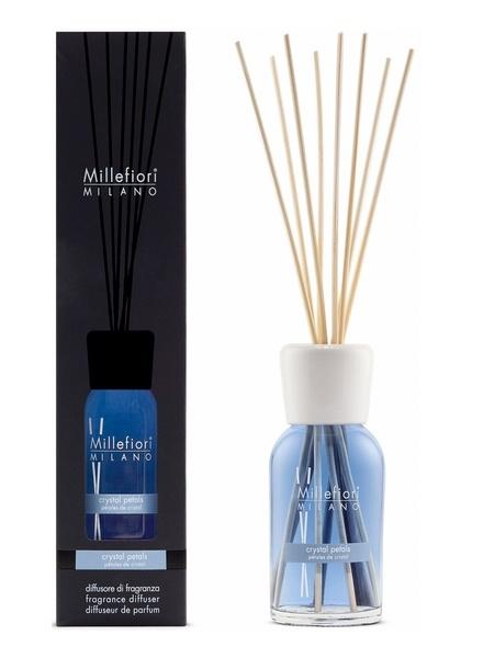 Millefiori Milano  Millefiori Milano Crystal Petals Geurstokjes Natural 250 ml