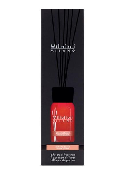 Millefiori Milano  Millefiori Milano Almond Blush Geurstokjes Natural 250 ml