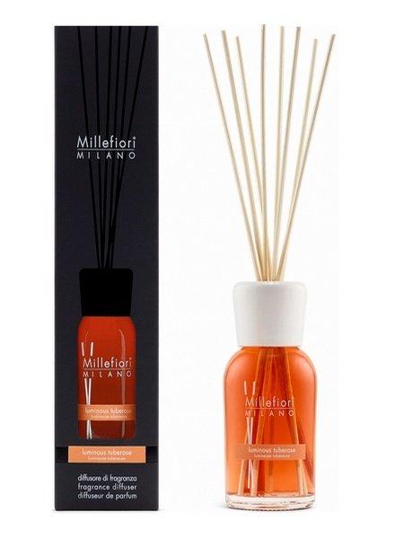 Millefiori Milano  Millefiori Luminous Tuberose Geurstokjes 250 ml
