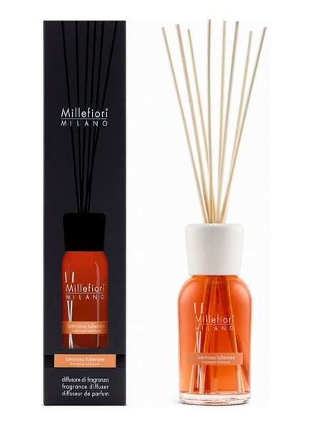 Millefiori Milano  Millefiori Milano Luminous Tuberose Geurstokjes Natural 250 ml