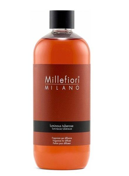 Millefiori Milano  Millefiori Luminous Tuberose Navulling 500 ml