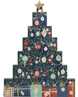 Yankee Candle Countdown to Christmas Advent Tower Calendar Book 2021