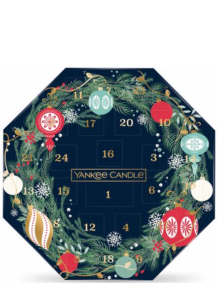 Yankee Candle Countdown to Christmas Advent Wreath Calendar 2021