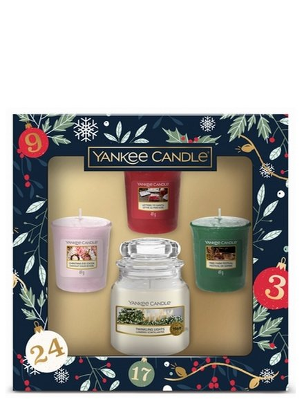 Yankee Candle Countdown to Christmas Small Jar Votive Giftset