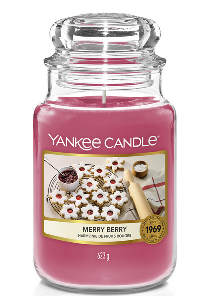 Yankee Candle Merry Berry Large Jar