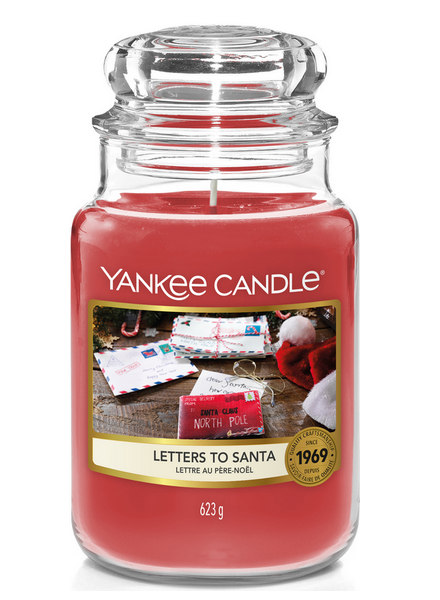 Yankee Candle Letters to Santa Large Jar