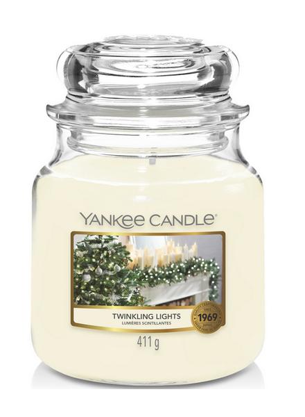 Yankee Candle Twinkling Lights Medium Jar