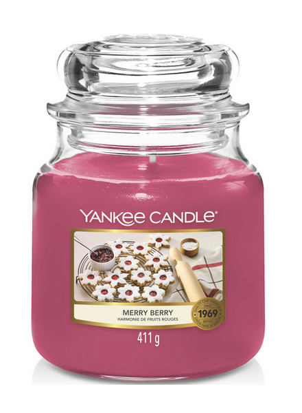Yankee Candle Merry Berry Medium Jar