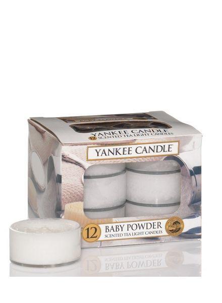 Yankee Candle Baby Powder Theelichten