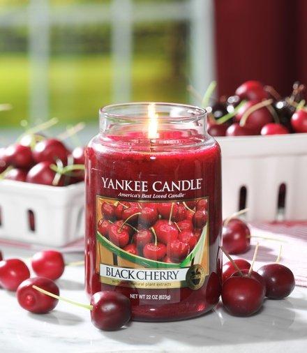 Yankee Candle Yanke Candle Black Cherry Large Jar