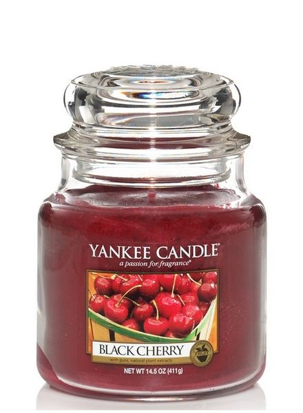 Yankee Candle Yankee Candle Black Cherry Medium Jar