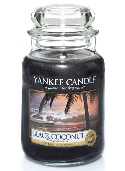 Yankee Candle Yanke Candle Black Coconut Large Jar