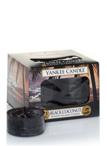 Yankee Candle Yankee Candle Black Coconut Theelichten