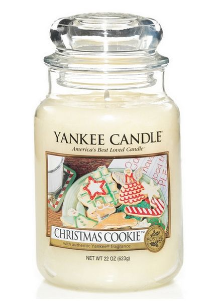 Yankee Candle Yanke Candle Christmas Cookie Large Jar