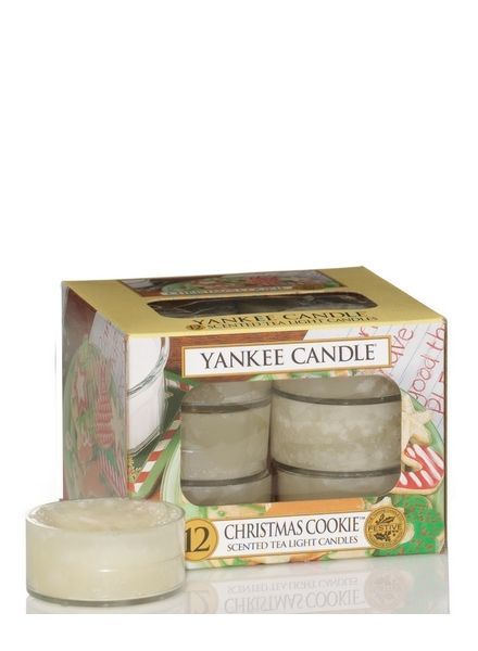 Yankee Candle Christmas Cookie Theelichten