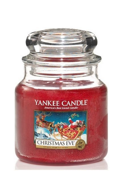 Yankee Candle Christmas Eve Medium Jar