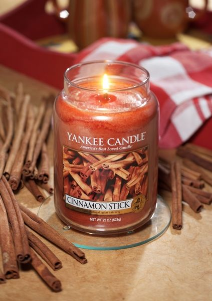 Yankee Candle Yanke Candle Cinnamon Stick Large Jar