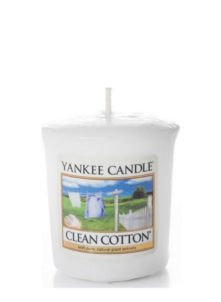Yankee Candle Clean Cotton Votive - US Candles