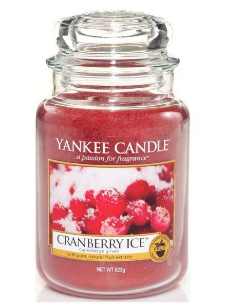 Yankee Candle Cranberry Ice Large Jar